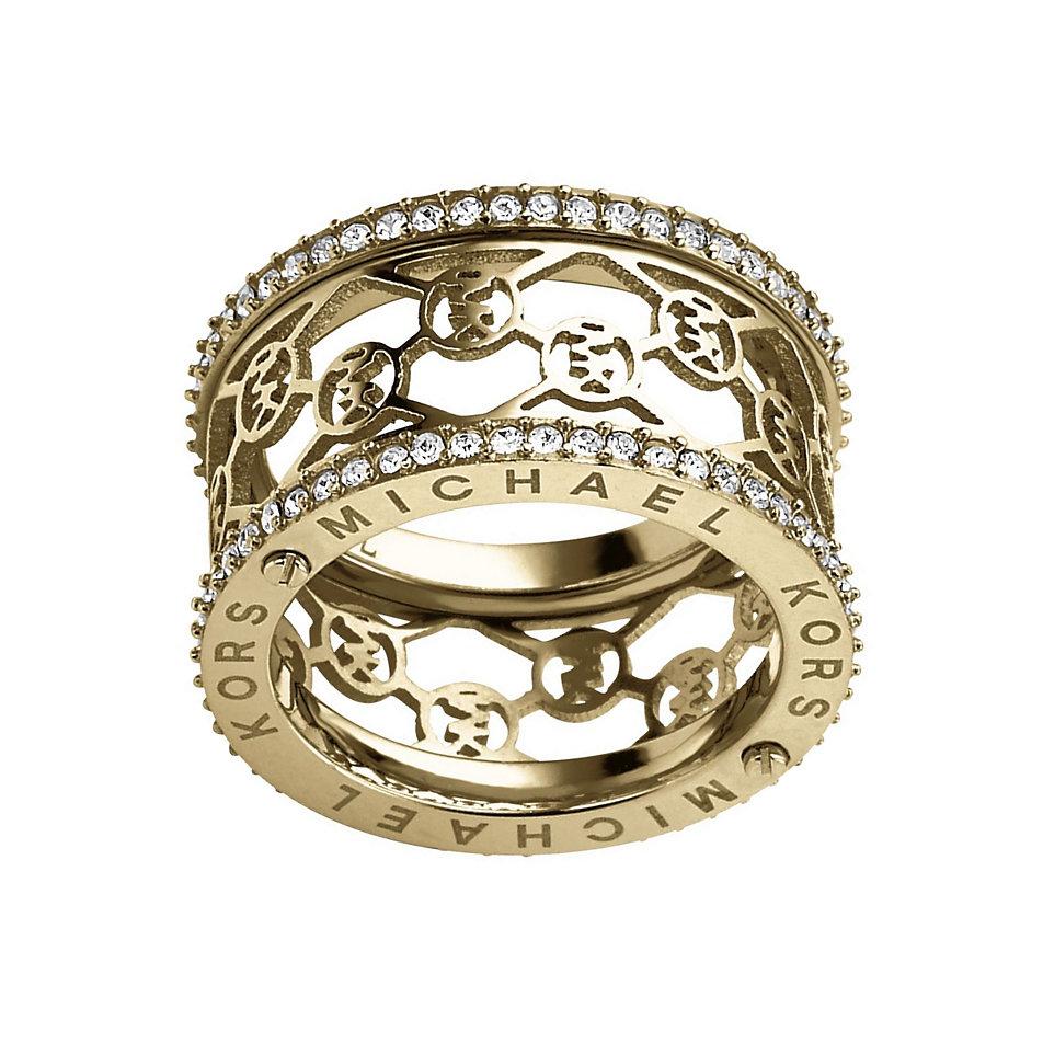 mkj2956710 michael kors bague heritage collection acheter en ligne juwelen nevejan. Black Bedroom Furniture Sets. Home Design Ideas