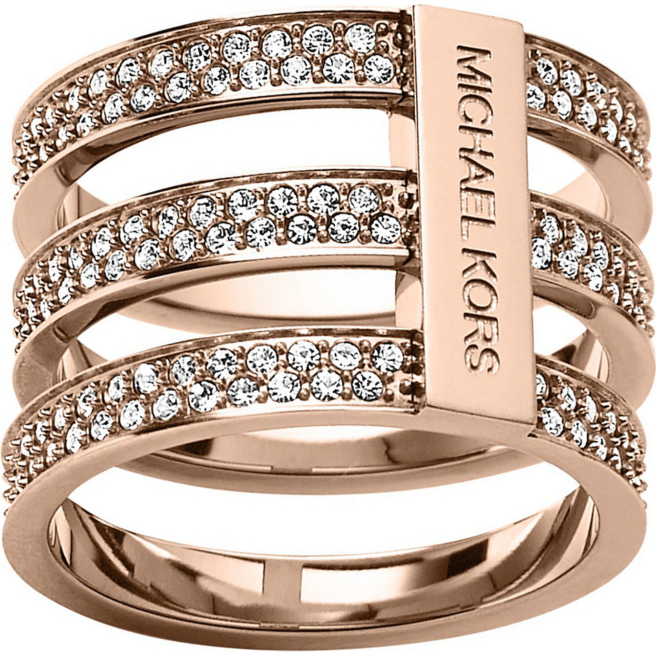 MKJ3781791 Michael Kors Brilliance collection ring for ...