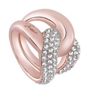 Guess Tied In Knots ring UBR72506