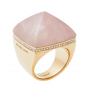 MKJ5257791 Michael Kors Blush Rush collection ring