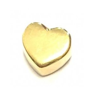 Heart Goldplated Silver Imotionals 5101