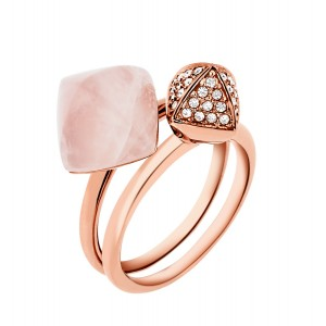 MKJ5255791 Michael Kors Blush Rush collection ring
