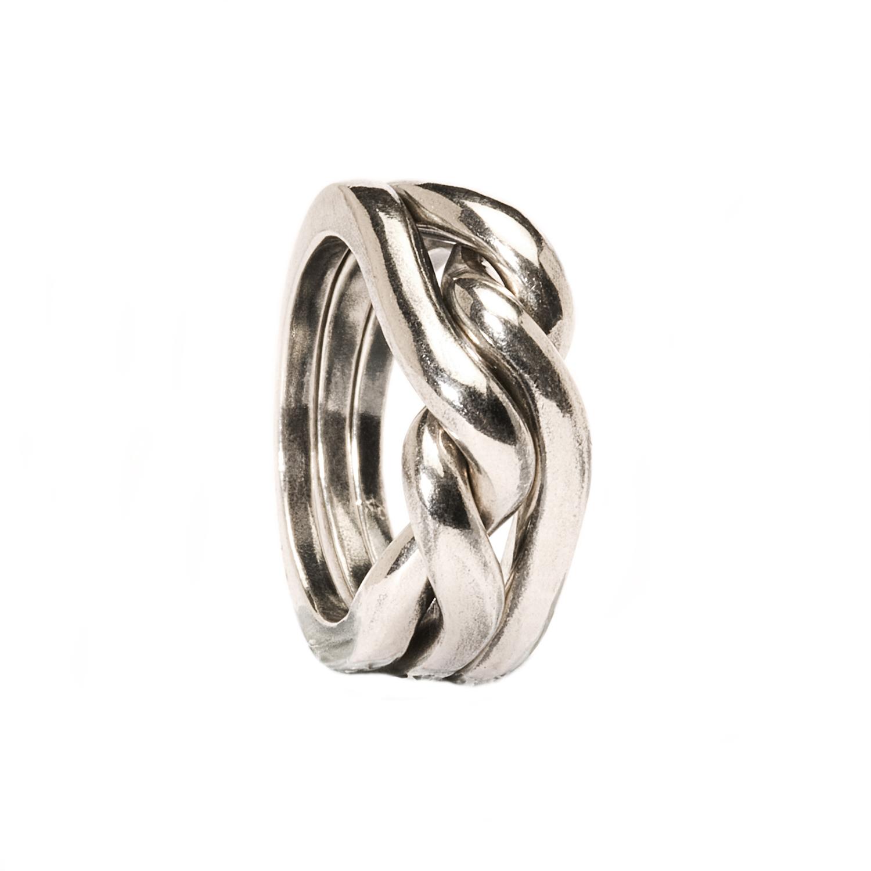 Trollbeads R1104-52 Strength, Courage, Wisdom Silver Ring