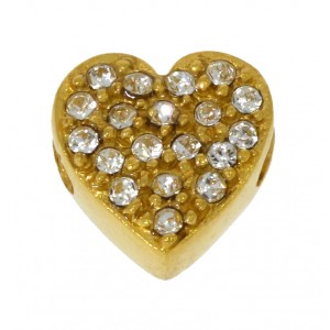 Heart Goldplated Silver Imotionals 5112