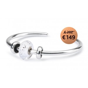 TROLLBEADS TSP2016F2 winterprinses bangle actie S