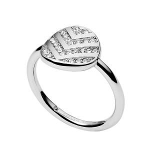 JF02675040 Fossil Vintage dames ring JF02675040