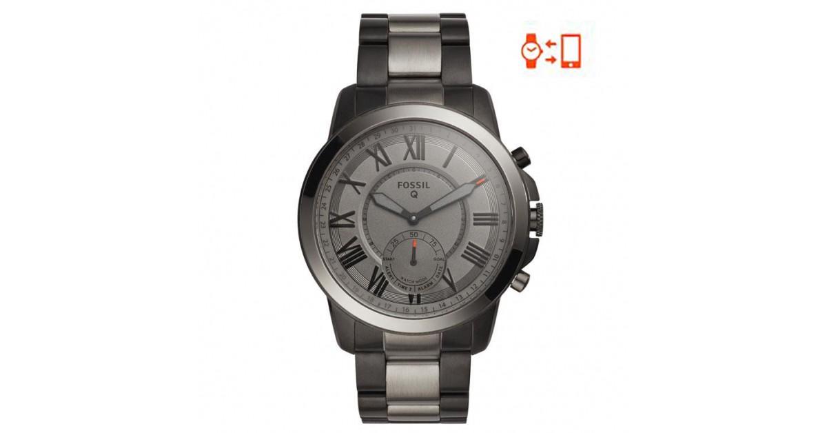 Ftw1139 Fossil Q Grant Hybrid Smartwatch For Sale Online Juwelen