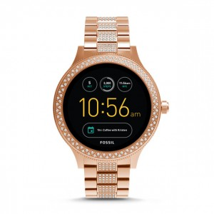 FTW6008 Fossil gen 3 smartwatch - q venture rose gold-tone stainless steel