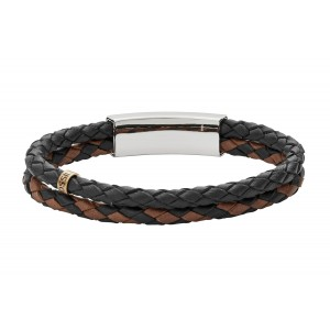 JF02758998 Fossil Leather Bracelet