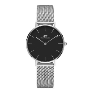 DW00100162 Daniel Wellington watch Classic Petite Black Sterling 32 mm
