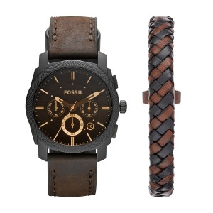 FS5251SET Montre Fossil Machine + bracelet