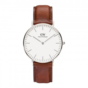DW00100052 Daniel Wellington watch Classic Sterling St Mawes 36 mm