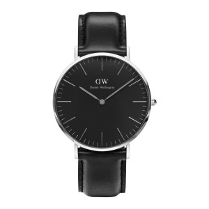 DW00100133 Daniel Wellington watch Classic Sterling Black Sheffield 40 mm