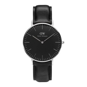 DW00100145 Daniel Wellington watch Classic Sterling Black Sheffield 36 mm