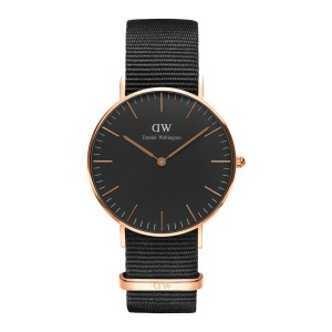 DW00100150 Daniel Wellington watch Classic Melrose Black Cornwall 36 mm
