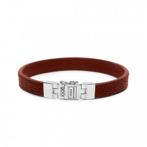 186CO Buddha To Buddha Essential Leather Texture armband