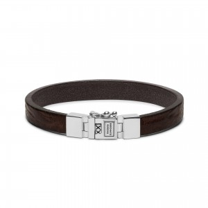 186BR Buddha To Buddha Essential Leather Smooth armband