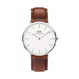 DW00100021 Daniel Wellington watch Classic Sterling St Mawes 40 mm