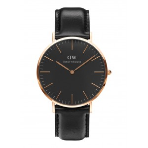 DW00100127 Daniel Wellington watch Classic Melrose Black Sheffield 40 mm