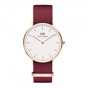 DW00100271 Daniel Wellington watch Classic Melrose Roselyn 36 mm
