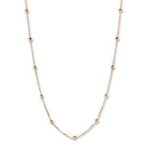 059198/45 One More ketting rosé goud 18kt