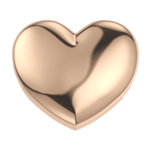 DCHF3314 Elements DonnaOro rose gold heart