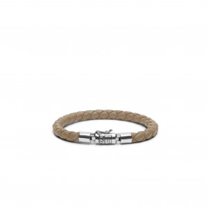 J545SA Buddha To Buddha Ben Round Leather Sand armband