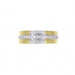 R902 gold 18kt ring
