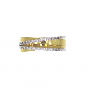 RT2626/B114 gold 18kt ring