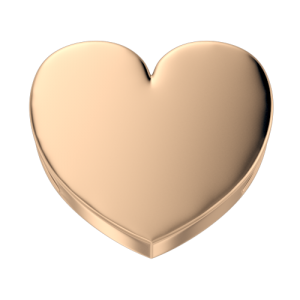 DCHF3848 Elements DonnaOro rose gold heart