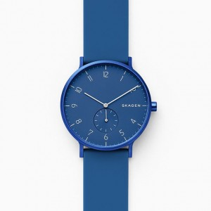 SKW6508 Skagen Aaren Kulor blue Silicone 41mm watch