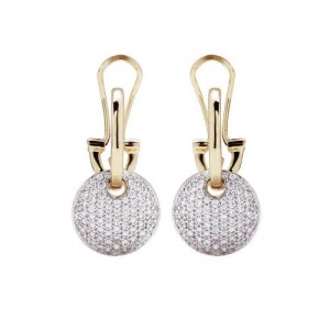 WSBZ00568YWY Bronzallure Earrings