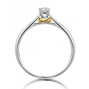 R45768A/53 Dulci Nea bicolor gold 18kt ring