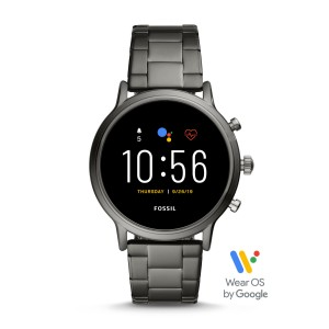 FTW4024 Fossil Gen 5 The Carlyle HR Smoke stainless steel smartwatch