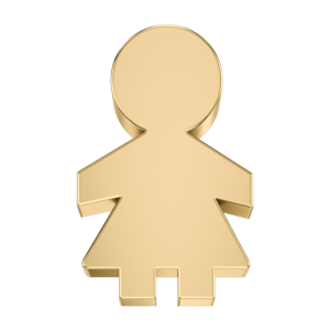 DCHF7434 Elements DonnaOro yellow gold little girl