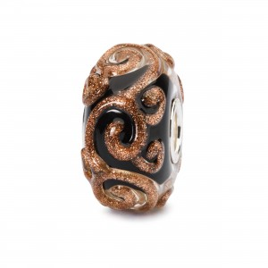 TGLBE-20091 Trollbeads Tourbillon doré (Special Edition) (Retired)
