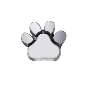 DCHF7422 Elements DonnaOro white gold dogs paw