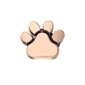 DCHF7423 Elements DonnaOro rose gold dogs paw