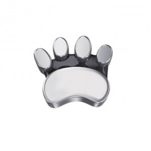 DCHF7426 Elements DonnaOro white gold cats paw