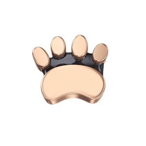 DCHF7427 Elements DonnaOro rose gold cats paw