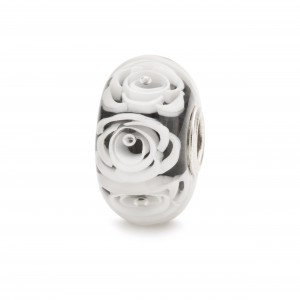 TGLBE-30044 Trollbeads Roses blanches