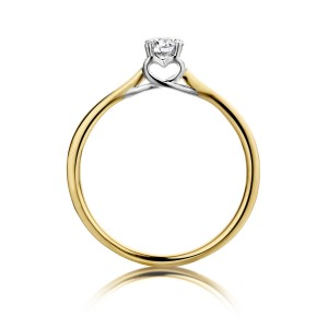 R44232/54 Dulci Nea bicolor gold 18kt ring