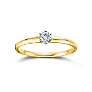 RG65105/53 Dulci Nea bicolor gold 18kt ring