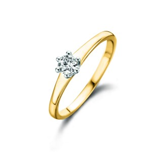 RG47061/54 Dulci Nea bicolor gold 18kt ring