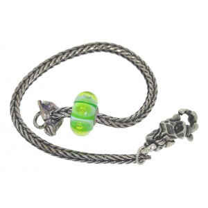 TSA18G-2 Trollbeads Art to Go Unique Green bracelet