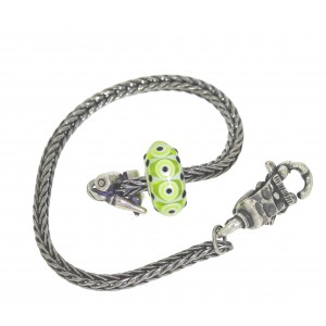 TSA18G-4 Trollbeads Art to Go Unique Green bracelet