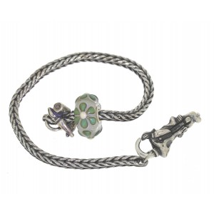 TSA18G-5 Trollbeads Art to Go Unique Green actie armband