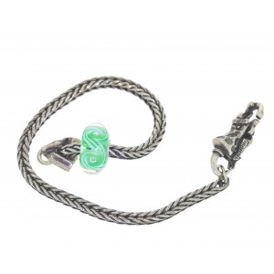 TSA18G-6 Trollbeads Art to Go Unique Green actie armband