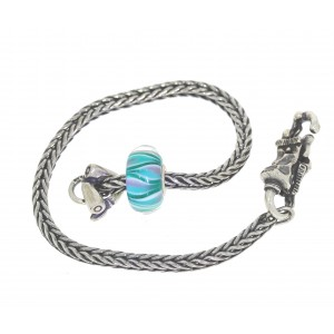 TSA18G-7 Trollbeads Art to Go Unique Green actie armband