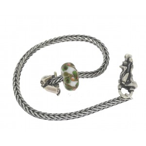 TSA18G-8 Trollbeads Art to Go Unique Green actie armband